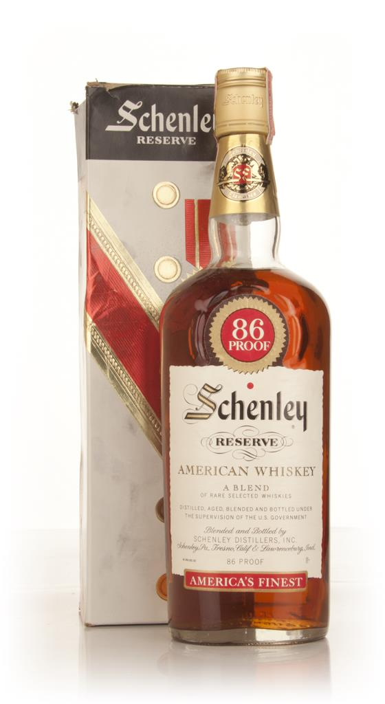 Schenley Reserve American Whiskey - 1960s Blended Whisky