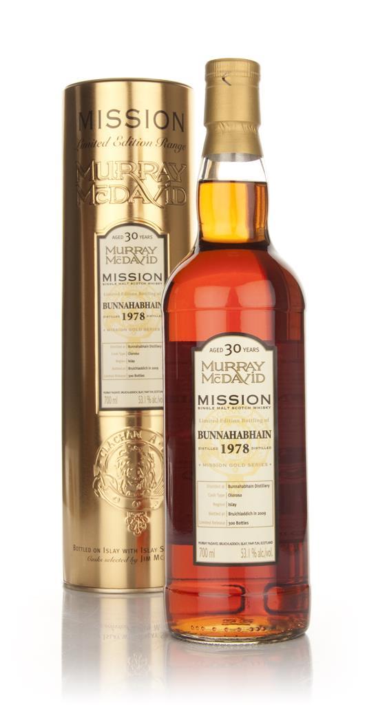 Bunnahabhain 30 Year Old 1978 - Mission (Murray McDavid) Single Malt Whisky