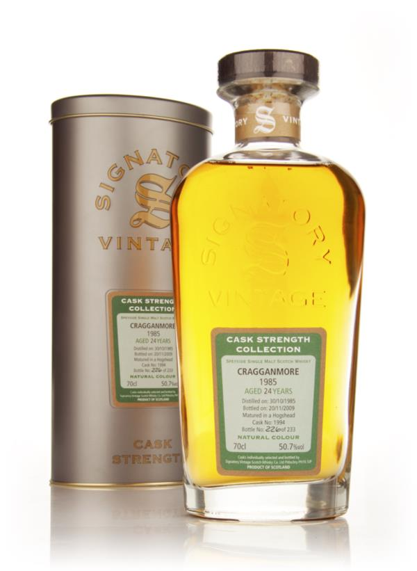 Cragganmore 24 Year Old 1985 - Cask Strength Collection (Signatory) Single Malt Whisky