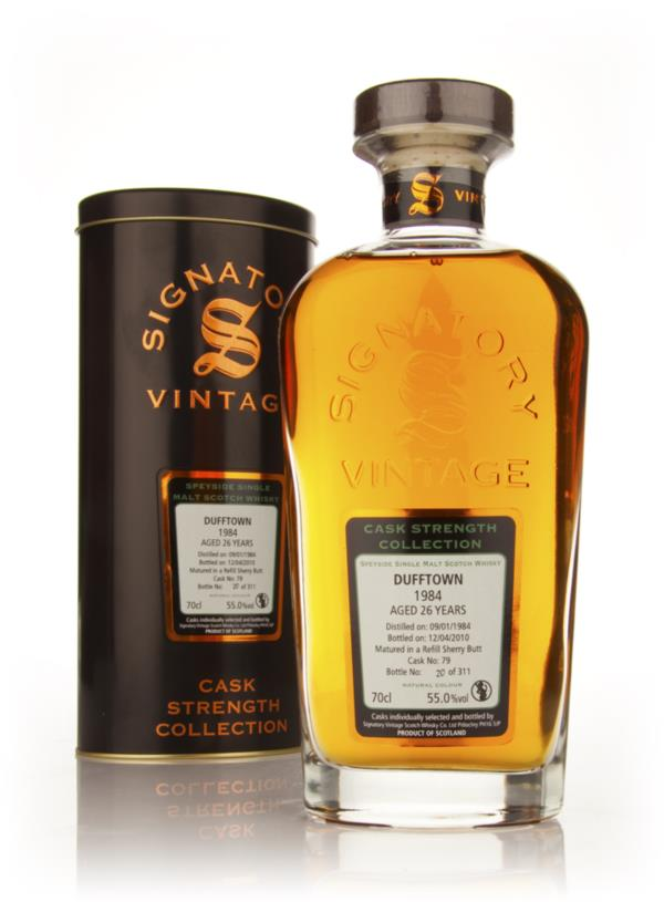 Dufftown 26 Year Old 1984 - Cask Strength Collection (Signatory) Single Malt Whisky