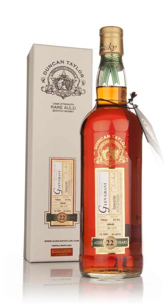 Glen Grant 22 Year Old 1987 Cask 44648 - Rare Auld (Duncan Taylor) Single Malt Whisky