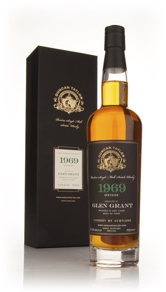 Glen Grant 40 Year Old 1969 - Peerless (Duncan Taylor) Single Malt Whisky