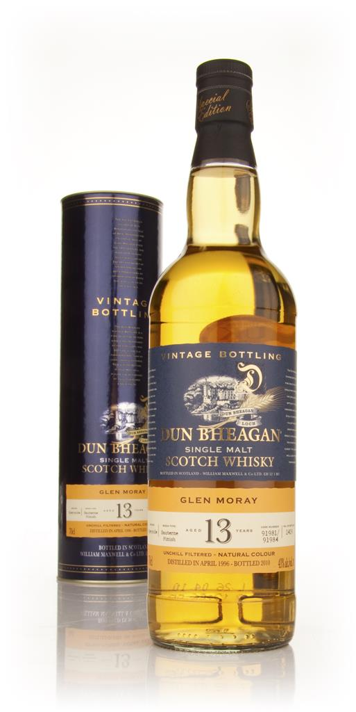 Glen Moray 13 Year Old 1996 - Dun Bheagan (Ian MacLeod) Single Malt Whisky