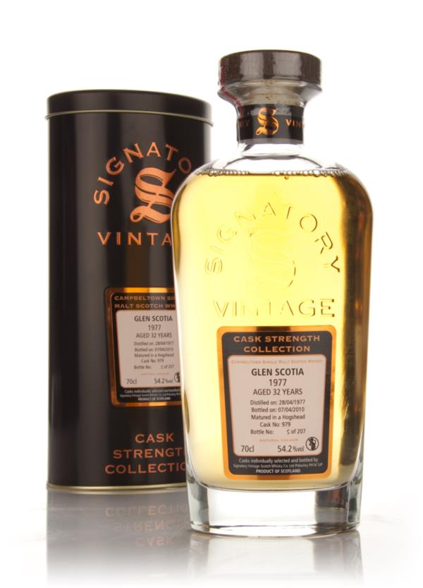 Glen Scotia 32 Year Old 1977 - Cask Strength Collection (Signatory) Single Malt Whisky