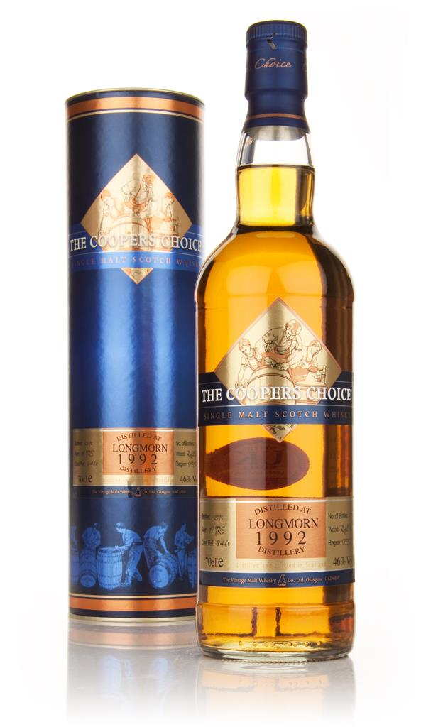 Longmorn 18 Year Old 1992 - Coopers Choice (Vintage Malt Whisky Co) Single Malt Whisky