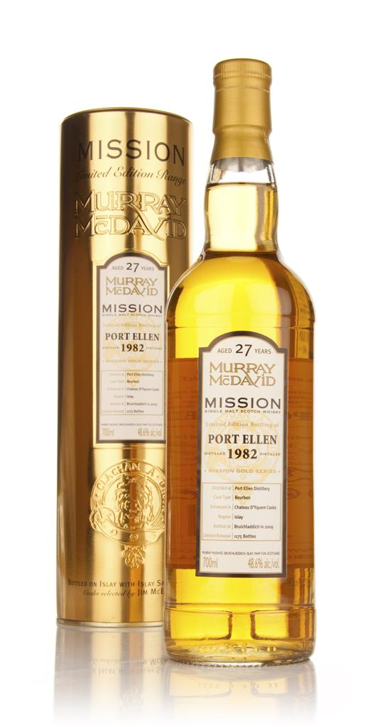 Port Ellen 27 Year Old 1982 - Mission (Murray McDavid) Single Malt Whisky