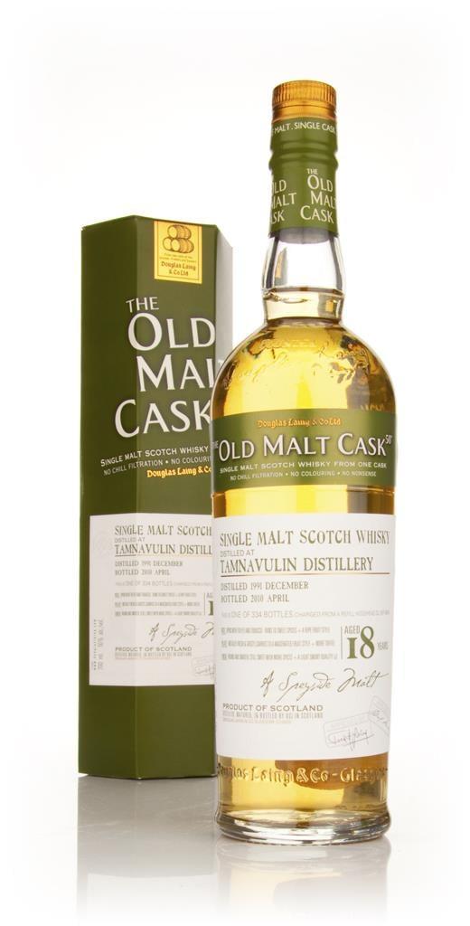 Tamnavulin 18 Year Old 1991 - Old Malt Cask (Douglas Laing) Single Malt Whisky