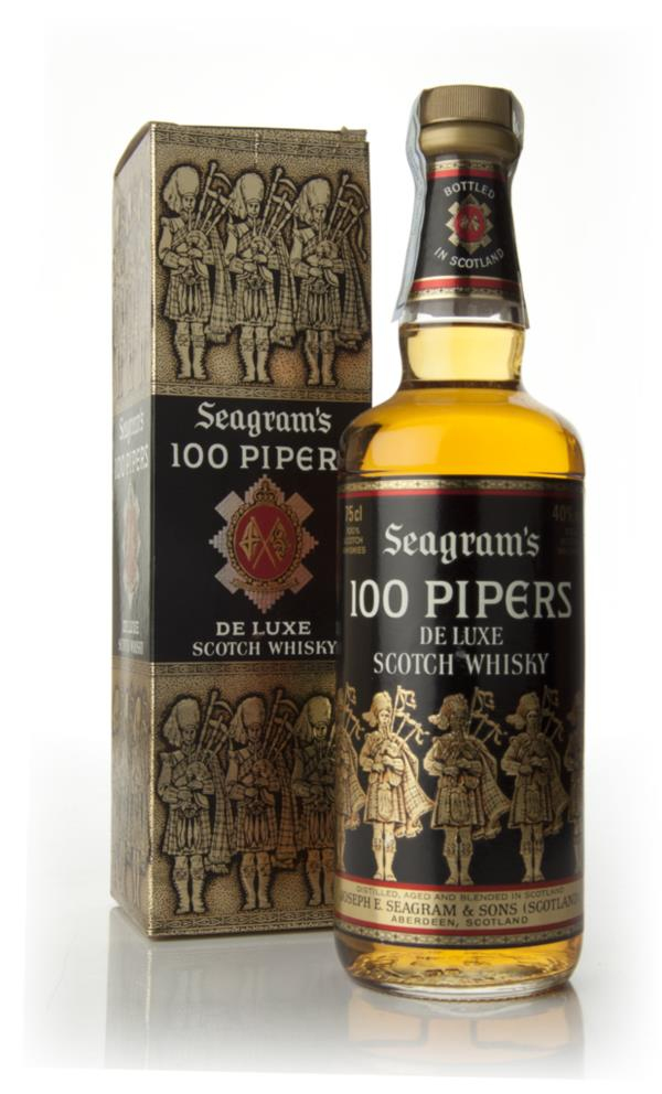 Seagrams 100 Pipers Blended Whiskey