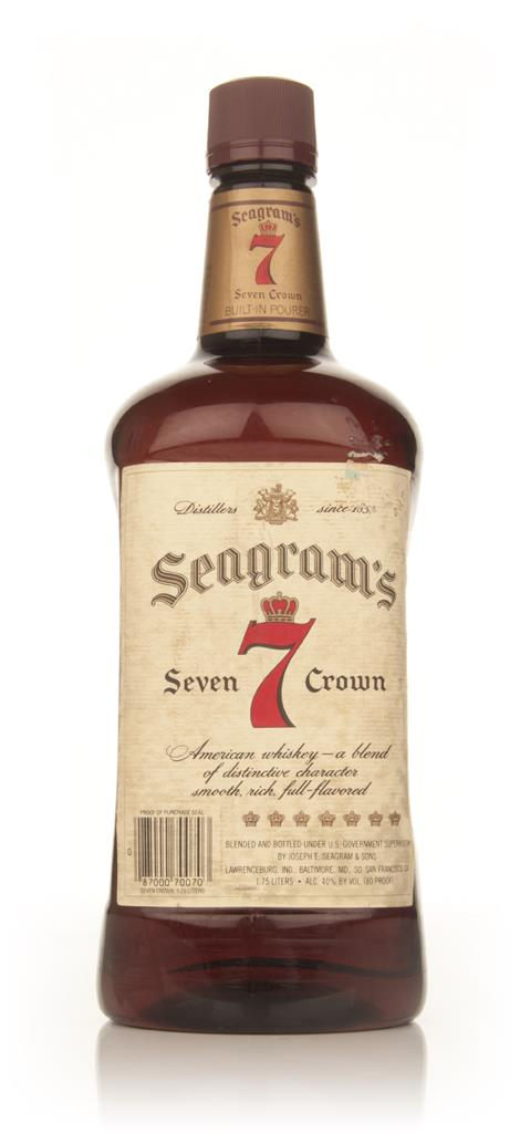 Seagrams 7 Crown - early 1980s Blended Whisky