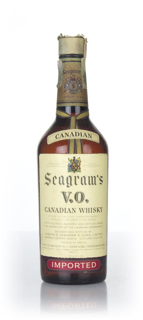 Seagrams V.O. 6 Year Old Canadian Whisky - 1966 Blended Whisky