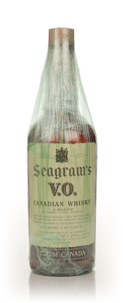 Seagrams V.O. 6 Year Old Canadian Whisky - 1970 Blended Whisky