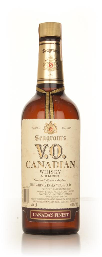 Seagrams V.O. 6 Year Old Canadian Whisky - 1979 Blended Whiskey