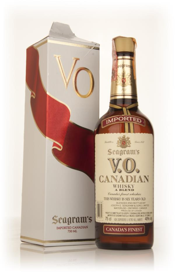 Seagrams V.O. 6 Year Old Canadian Whisky - 1980s Blended Whisky