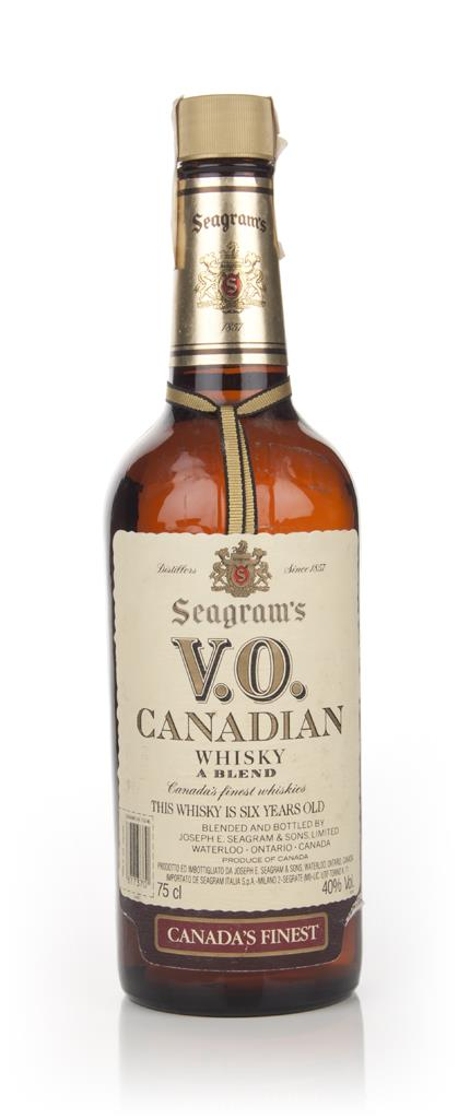 Seagrams V.O. 6 Year Old Canadian Whisky - 1984 Blended Whisky