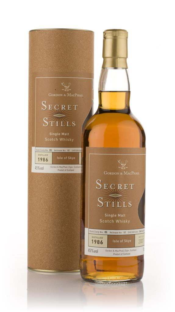 Secret Stills No. 1.2 Island 1986 Single Malt Whisky