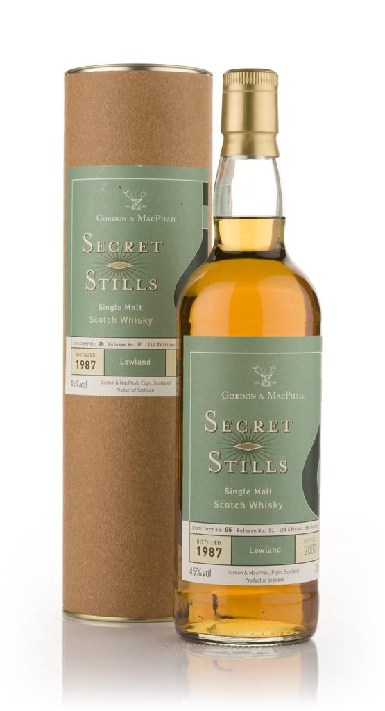 Secret Stills No. 5.1 Lowland 1987 Single Malt Whisky