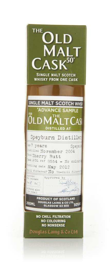 Speyburn 7 Year Old 2004 - Old Malt Cask (Douglas Laing) Single Pot Still Whisky