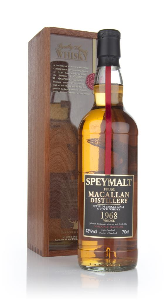 Macallan 1968 - Speymalt (Gordon and MacPhail) Single Malt Whisky