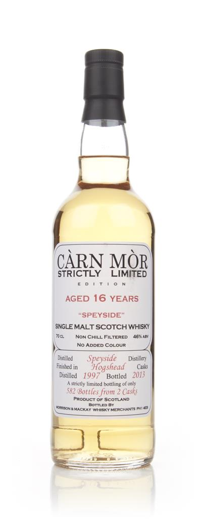 Speyside 16 Year Old 1997 - Strictly Limited (Carn Mor) Single Malt Whisky