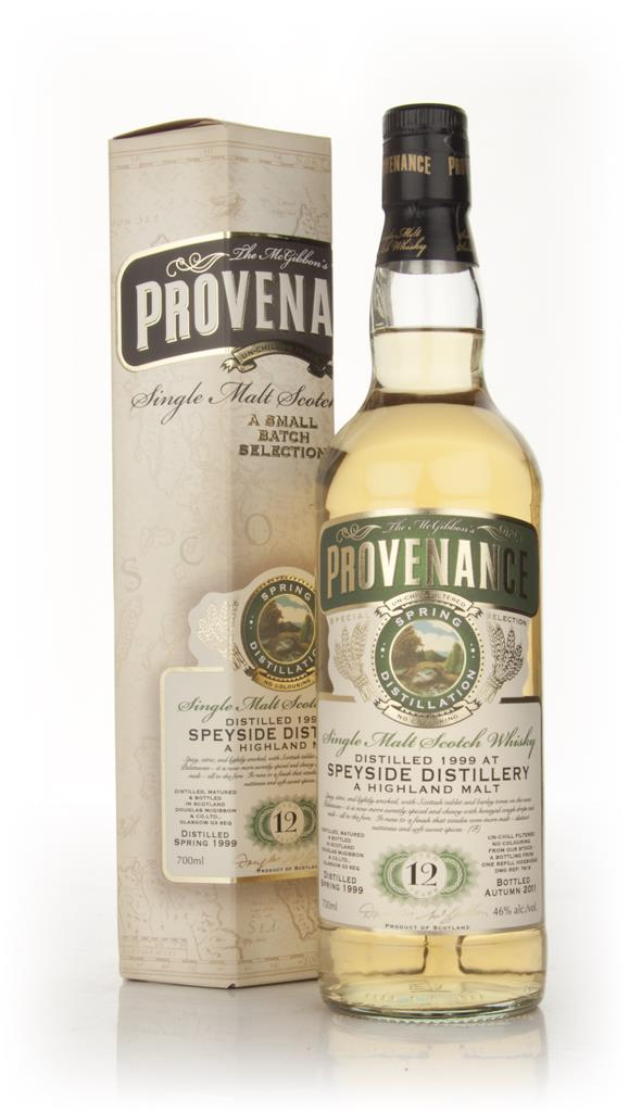 Speyside 12 Year Old 1999 - Provenance (Douglas Laing) Single Malt Whisky