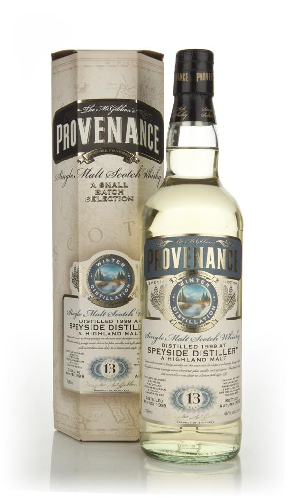 Speyside 13 Year Old 1999 Cask  9215 - Provenance (Douglas Laing) Single Malt Whisky