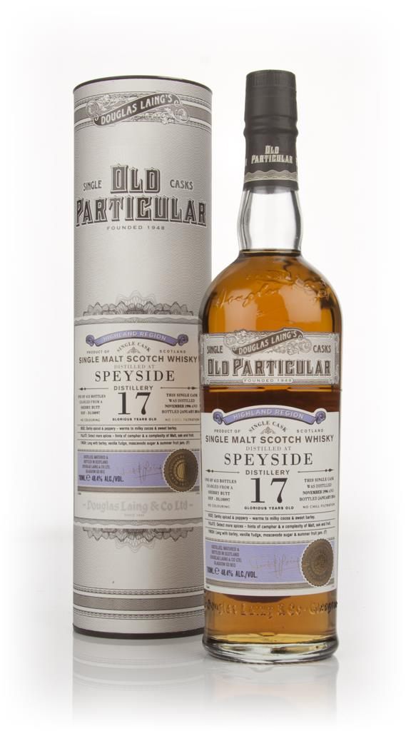 Speyside 17 Year Old 1996 (cask 10097) - Old Particular (Douglas Laing Single Malt Whisky