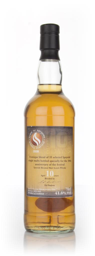 Spirit of Speyside 10 Year Old - 2009 Blended Malt Whisky