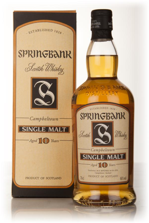 Springbank 10 Year Old (Old Edition) Single Malt Whisky