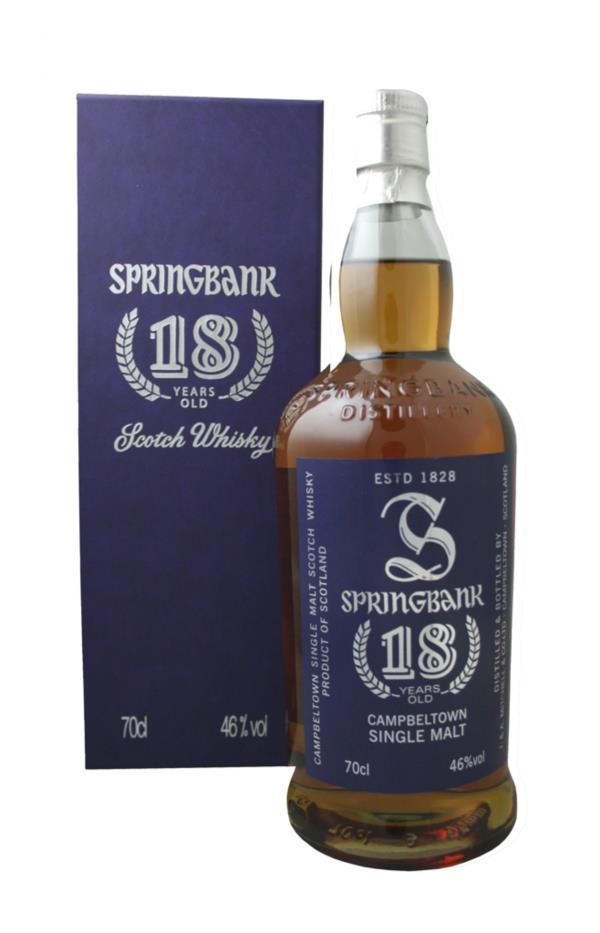 Springbank 18 Year Old (Old Edition) Single Malt Whisky