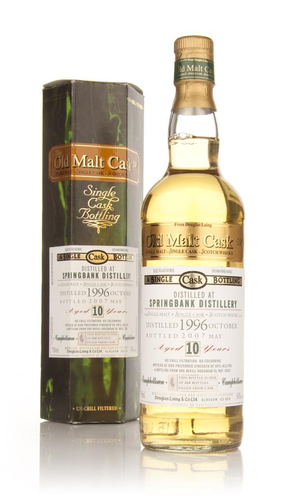 Springbank 10 Year Old 1996 Cask 3553 - Old Malt Cask (Douglas Laing) Single Malt