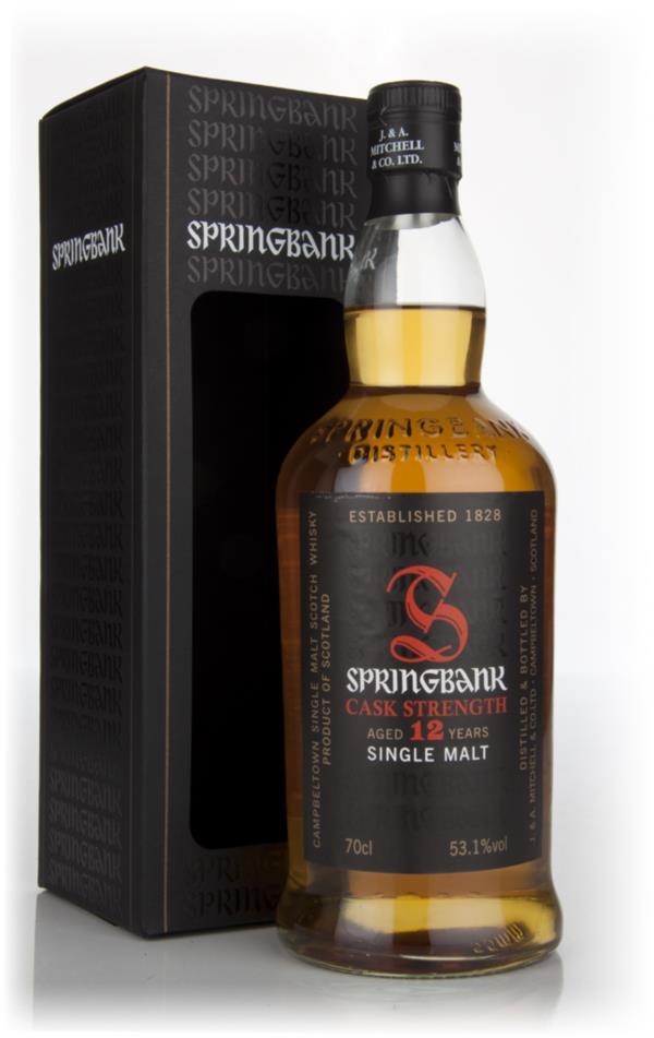 Springbank 12 Year Old Cask Strength - Batch 5 Single Malt Whisky