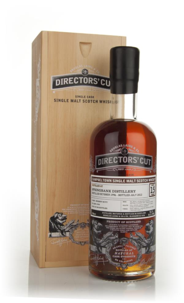 Springbank 15 Years Old 1996 (cask 8700) - Directors Cut (Douglas Lai Single Malt Whisky