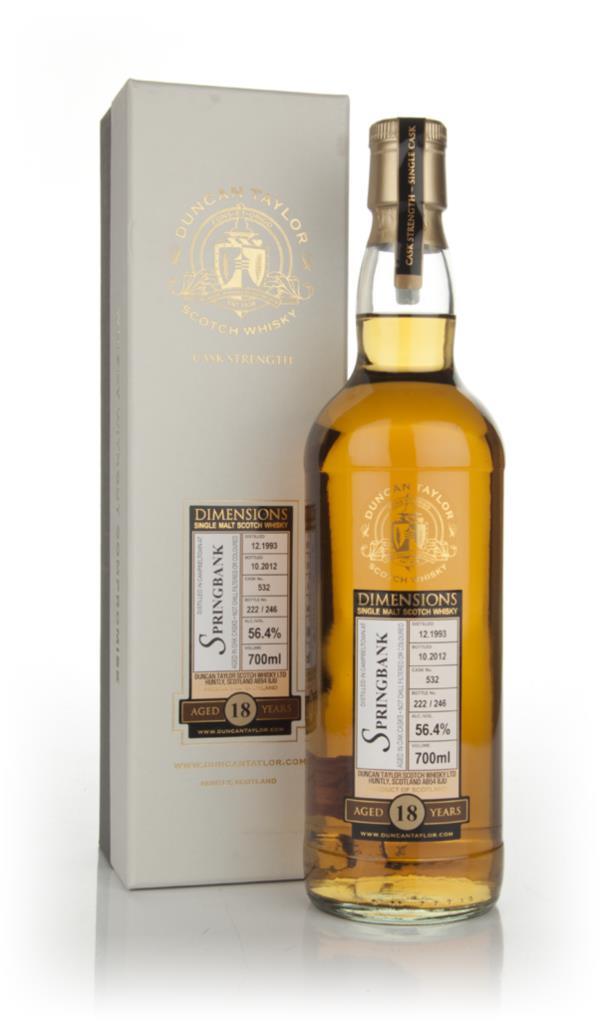 Springbank 18 Year Old 1993 - Dimensions (Douglas Laing) Single Malt Whisky