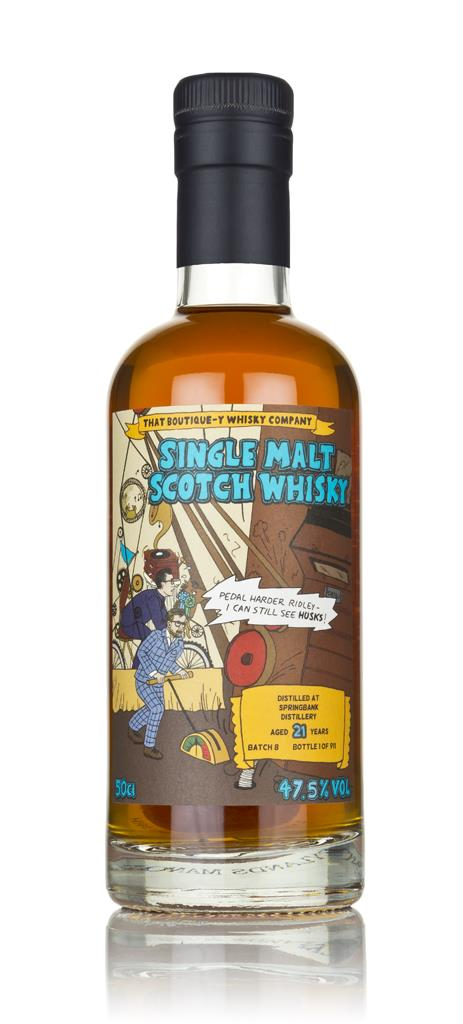 Springbank 21 Year Old (That Boutique-y Whisky Company) 3cl Sample Single Malt Whisky