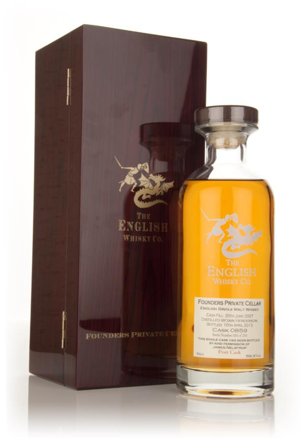 English Whisky Co. Founders Private Cellar - Port Cask 3cl Sample Single Malt Whisky