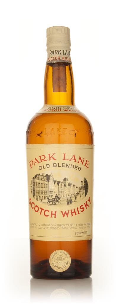 Park Lane Old Blended Scotch Whisky - 1960s Blended Whisky
