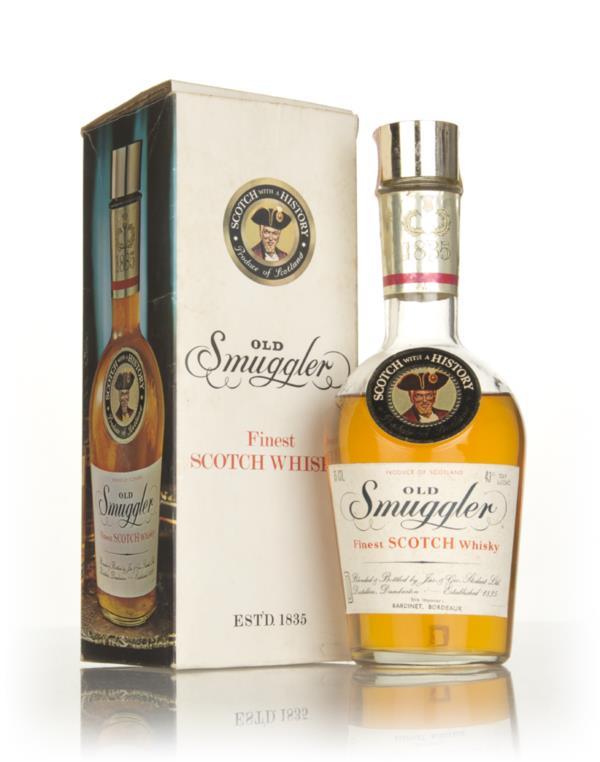 Old Smuggler (Face Label) - 1970s Blended Whisky