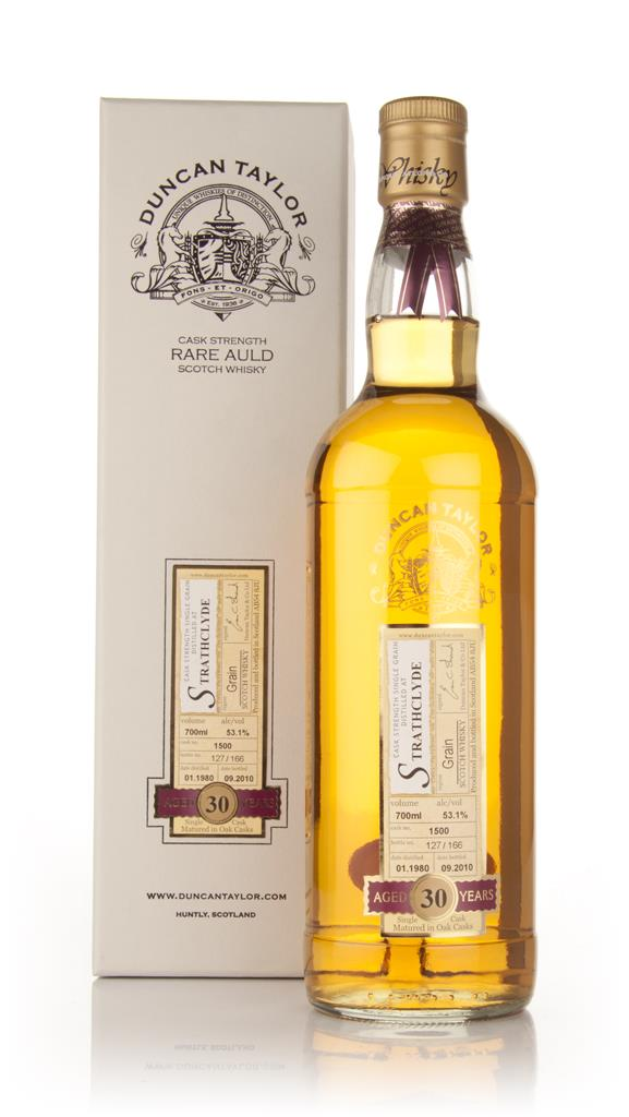 Strathclyde 30 Year Old 1980 Cask 1500 - Rare Auld (Duncan Taylor) Grain Whisky