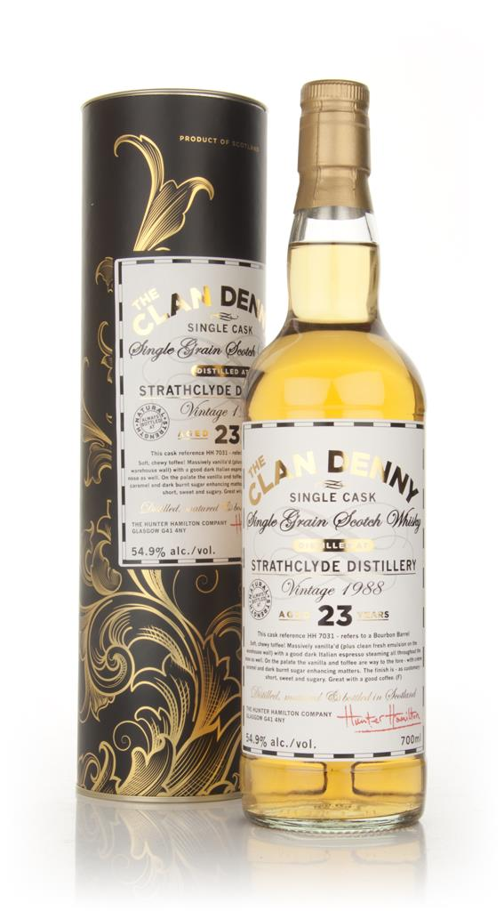 Strathclyde 23 Year Old 1988 - The Clan Denny (Douglas Laing) Single Grain Whisky