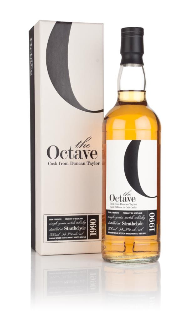 Strathclyde 24 Year Old 1990 (cask 648268) - The Octave (Duncan Taylor Grain Whisky 3cl Sample
