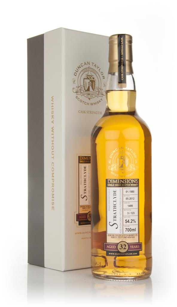 Strathclyde 32 Year Old 1980 - Dimensions (Duncan Taylor) Single Grain Whisky