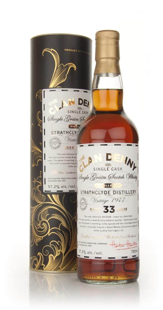 Strathclyde 33 Year Old 1977 - The Clan Denny (Douglas Laing) Single Grain Whisky