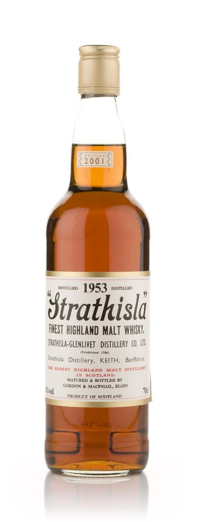 Strathisla 1953 (Gordon and MacPhail) Single Malt Whisky