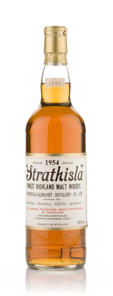 Strathisla 1954 (Gordon and MacPhail) Single Malt Whisky