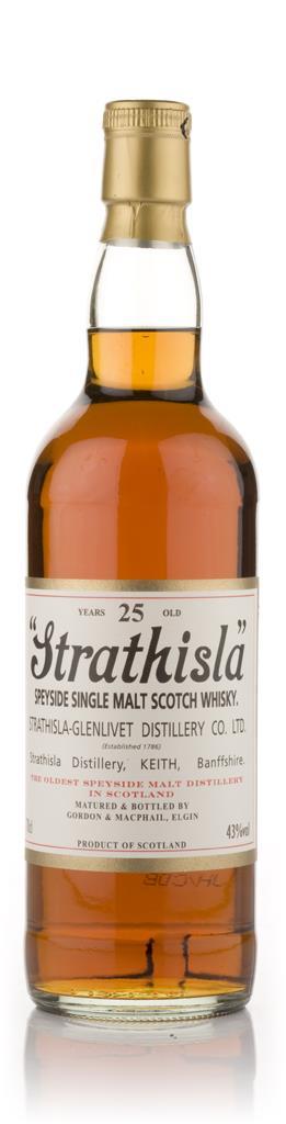 Strathisla 25 Year Old (Gordon and MacPhail) Single Malt Whisky