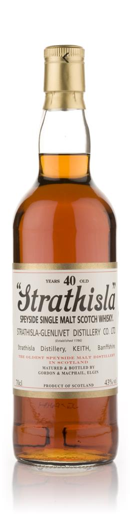 Strathisla 40 Year Old (Gordon and MacPhail) Single Malt Whisky