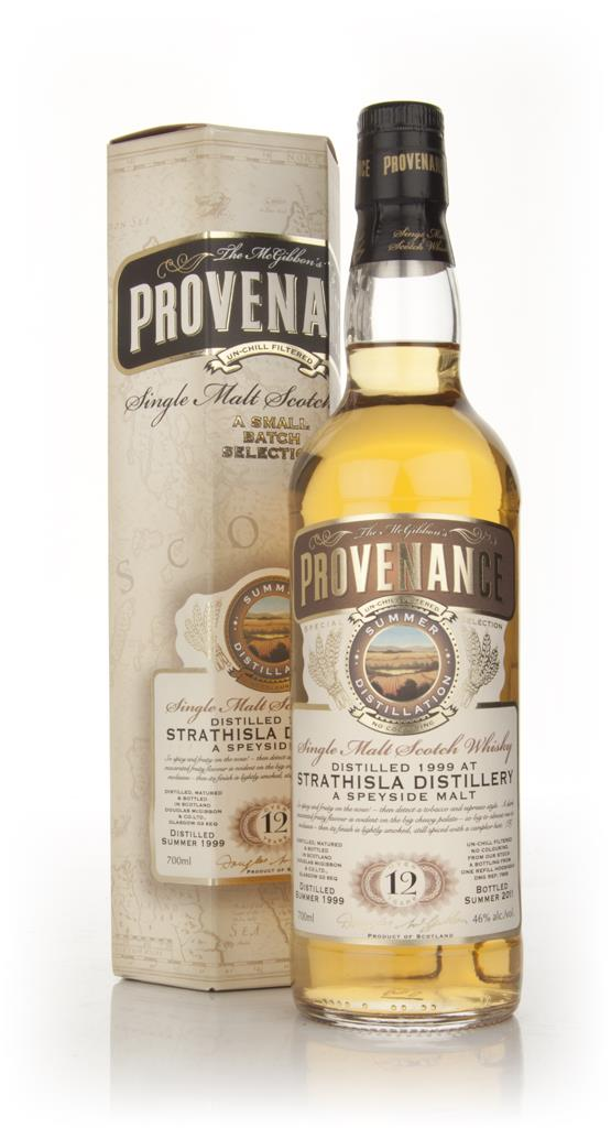 Strathisla 12 Year Old 1999 - Provenance (Douglas Laing) Single Malt Whisky