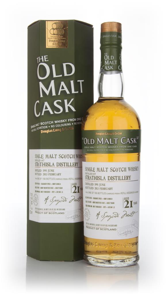 Strathisla 21 Year Old 1991 (cask 9519) - Old Malt Cask (Douglas Laing Unknown Whisky