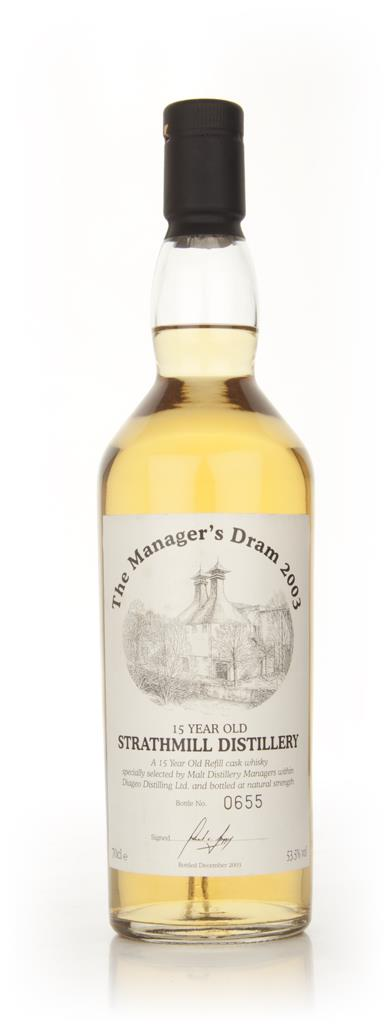 Strathmill 15 Year Old - The Managers Dram 2003 Whisky
