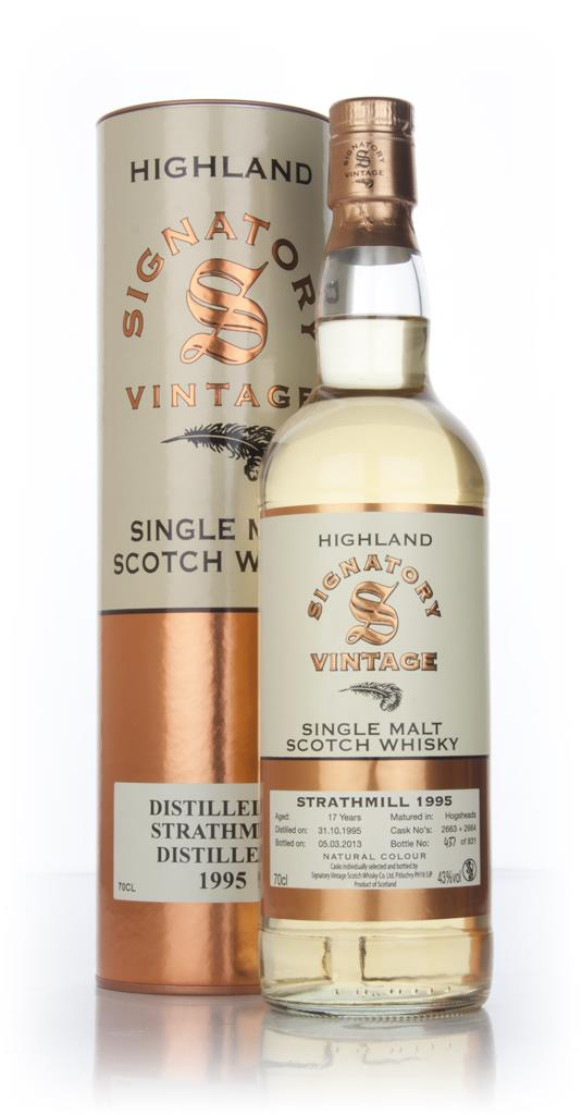 Strathmill 17 Year Old 1995 (casks 2663+2664) (Signatory) Single Malt Whisky